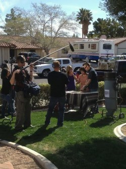 "Filming ""Kitchen Crashers"""