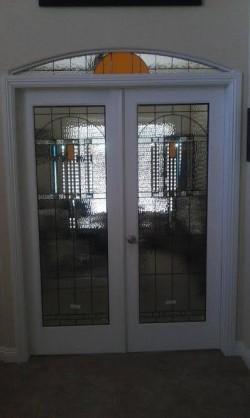 leaded door