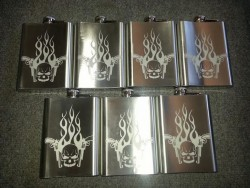 metal flasks