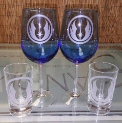 star wars wine glasses