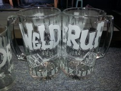 welderup beer mugs